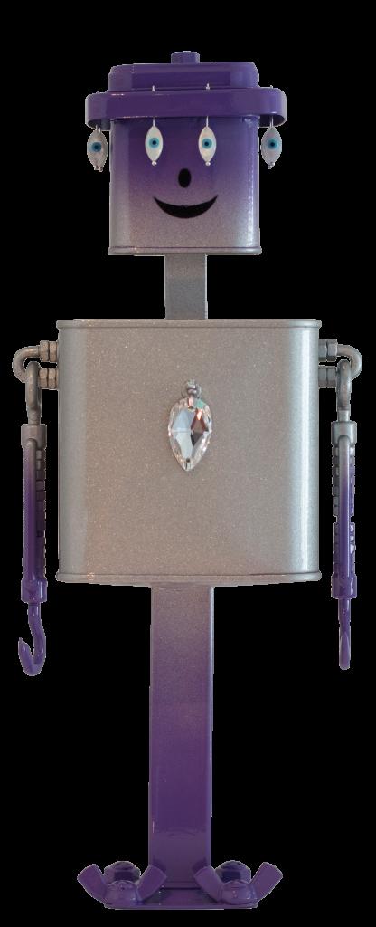 Full photo of Jacky the Bling Bling robot