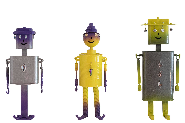 Les robots bling bling Jacky Tracy et Jessy